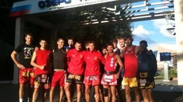 мужская сборная по тайскому боксу