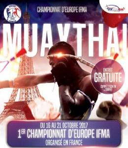 чемпионат европы по тайскому боксу 2017